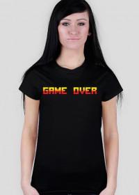 Pixel art – game over (różne kolory)