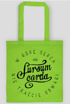 Sursum Corda (torba dwustronna)