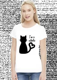 Koszulka z kotem I'm a catholic