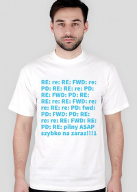 Koszulka z typowym mailem