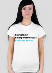 Koszulka z kawusią