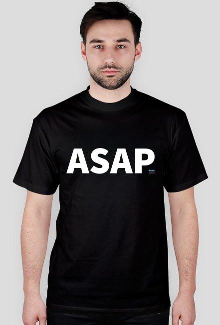 Koszulka ASAP czarna