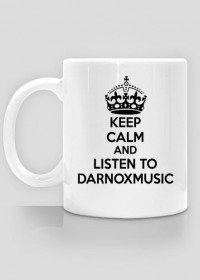 Kubek Keep Calm Darnoxmusic