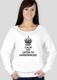 Bluza Keep Calm Darnoxmusic Damska