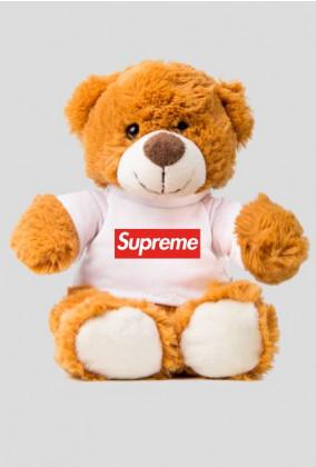Miś w Koszulce Supreme