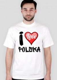 Koszulka I Love Polska