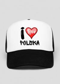 Czapka I Love Polska