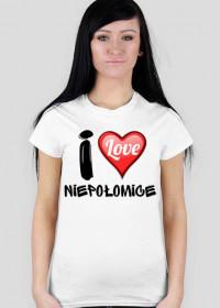 Koszulka I Love Niepołomice
