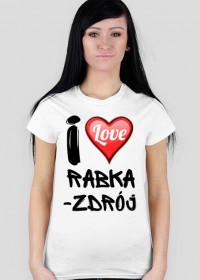Koszulka I Love Rabka-Zdrój