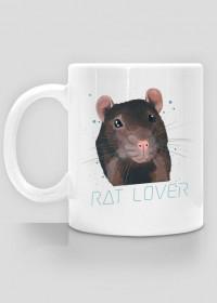 Rat Lover - kubek biały