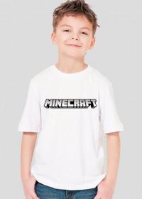 Minecraft Koszulka Dziecięca LOGO