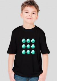 Minecraft Koszulka Dziecięca DIAMENT
