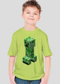 Minecraft Koszulka Dziecięca CREEPER