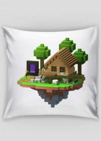 Minecraft Poduszka WYSPA