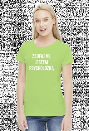 PSYCHOLOŻKA - koszulka damska