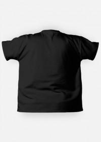 Stop making stupid people famous (koszulka fullprint męska) czarna