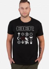 "Koszulka męska ""Symbole"" - czarna"
