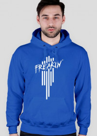 Hoodie - Freakin' | BLUE