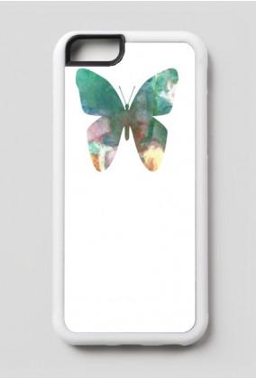 Kwiatowy motyl etui