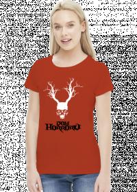 Dom Horroru Logo Czarne