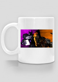 CUP WITH GRIMLOCK AND SHOCKAVE TF(FOC)