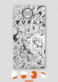 Mangowa Bandana - Horror Pattern - Harajuku Sklep