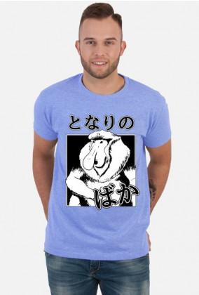 Koszulka Nosacz (Somsiad) - Z japońskim napisem - Prezent dla otaku