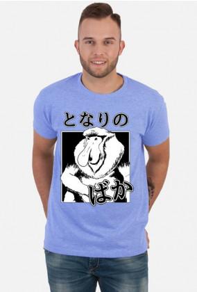 Koszulka Nosacz (Somsiad) - Z japońskim napisem - Prezent dla otaku #2