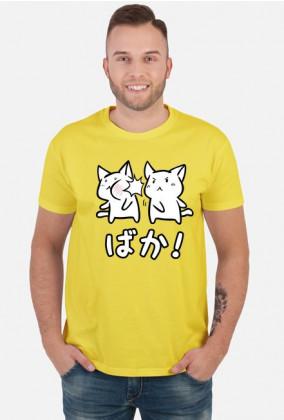 Baka! - Nadruk z kotkami - Pomysł na prezent dla otaku