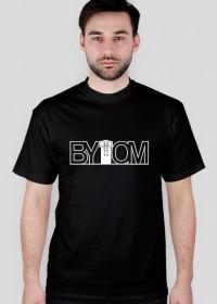 Bytom - koszulka - napis biały
