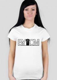 Bytom - koszulka damska - napis czarny