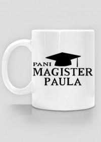 Kubek Pani Magister z imieniem Paula