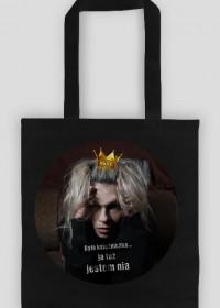 dollZ - Psycho Princess bag cytat