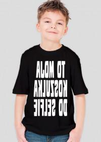 Koszulka do selfie (koszulka chłopięca) jasna grafika