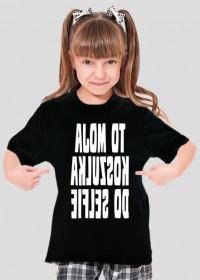 Koszulka do selfie (koszulka dziewczęca) jasna grafika