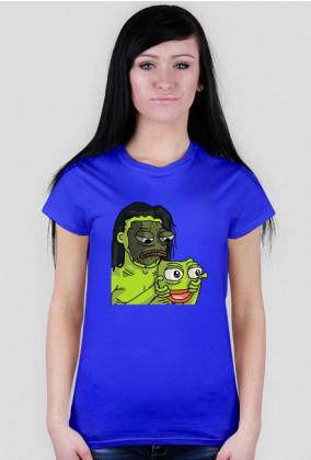 Basic T-Shirt Damski - Maska