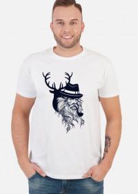 FUNPAL - STIL - koszulka męska czarny nadruk