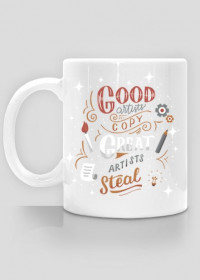 Wo. Cup - Great Artist Steal - Graphic Designer