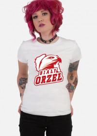 Koszulka patriotyczna damska Biały Orzeł