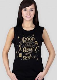 WO. T-Shirt - Thinking Made Visible - Graphic Designer GOLD