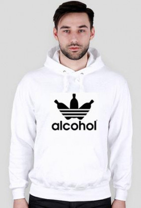alcohol jak adidas White Men Bluza