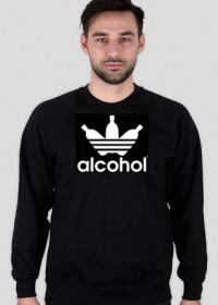 alcohol jak adidas Black Men Bluza