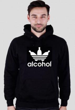 alcohol jak adidas Black Men Bluza Kaptur