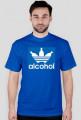 alcohol jak adidas Blue Men T-Shirt