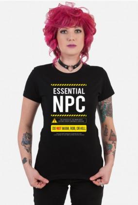 Koszulka dla fana RPG - na LARP'a (NPC) (Damska)