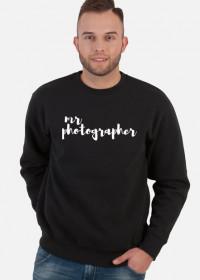 "Bluza męska ""Mr Photographer"" (CZARNA)"