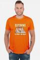 Dziwne u mnie działa - Koszulka dla programisty / informatyka - Somsiad (Męska)