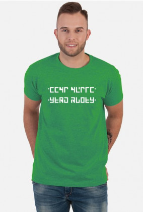 Send Nudes - Koszulka z ukrytym napisem (Męska)