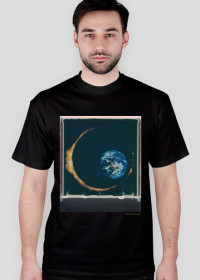 Space Eclipse T-Shirt /black