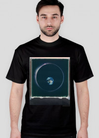 Space Circle T-Shirt/ black